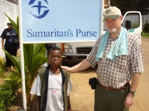 Liberia HHIM Mark Richard.xxx Samaritan's Purse signFeb24 2006