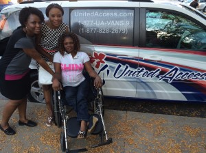 Nigeria Seun Oke arrives in MO w.xxx United Access van Sept 2014