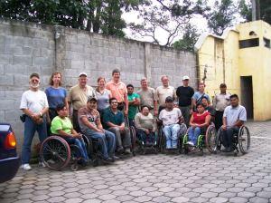 Guatemala dist PET volunteers and.xxx HHI staff June2009