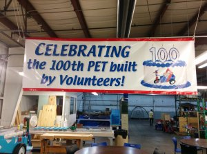 Volunteers and ministry partners from Blaze Technical Services, GS Steel, Christ Community Chapel and other organizations joined in the celebration