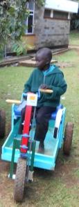 child in Kenya