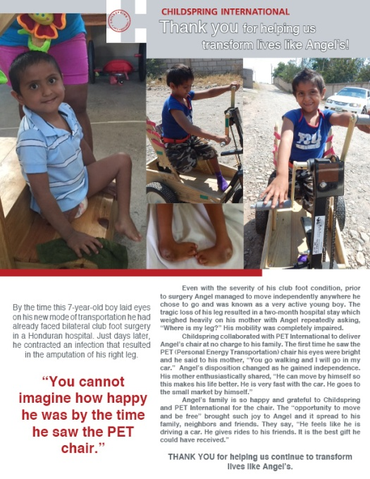 Meet Angel, Childspring International's June Highlight!