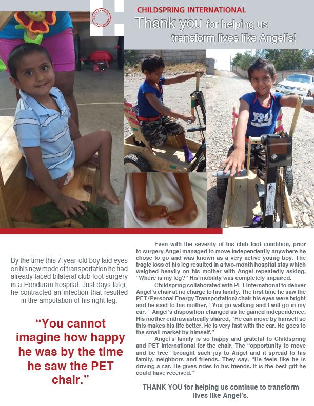 Meet Angel, Childspring International's June Highlight!
