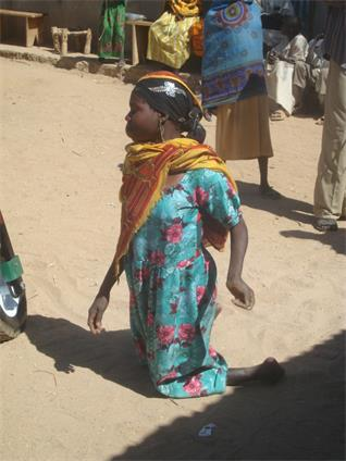 (How about this young woman in Chad?)